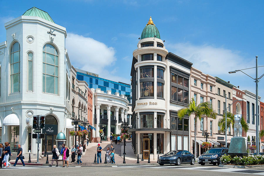 Rodeo Drive shopping place - top shopping venue